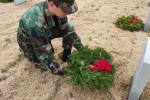 Wreaths Across America Ceremony Held at Dallas-Fort Worth National Cemetery