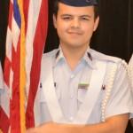 Civil Air Patrol Cadet 2nd. Lt. Ethan Ramos.