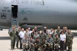 Texas Wing Members Ride Mammoth C-5M Super Galaxy